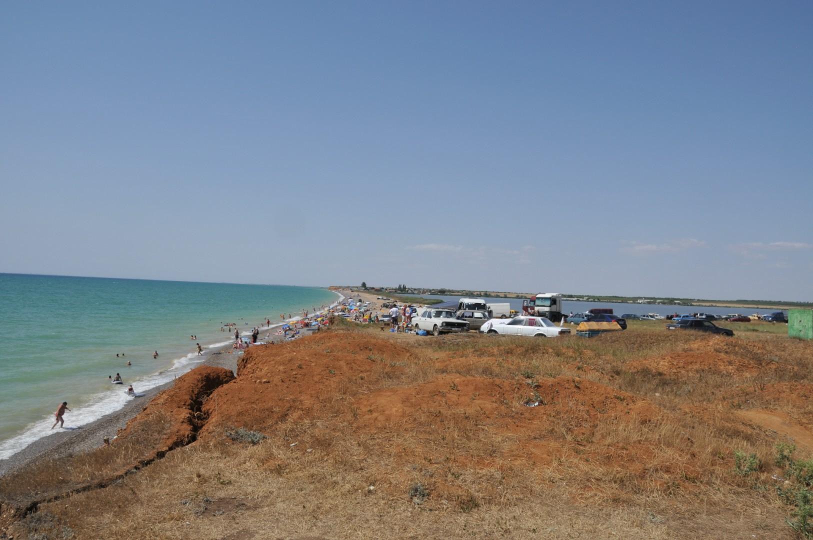Фото крыма пляж на фрунзе